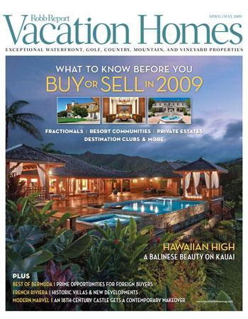Robb Report Vacation Homes
